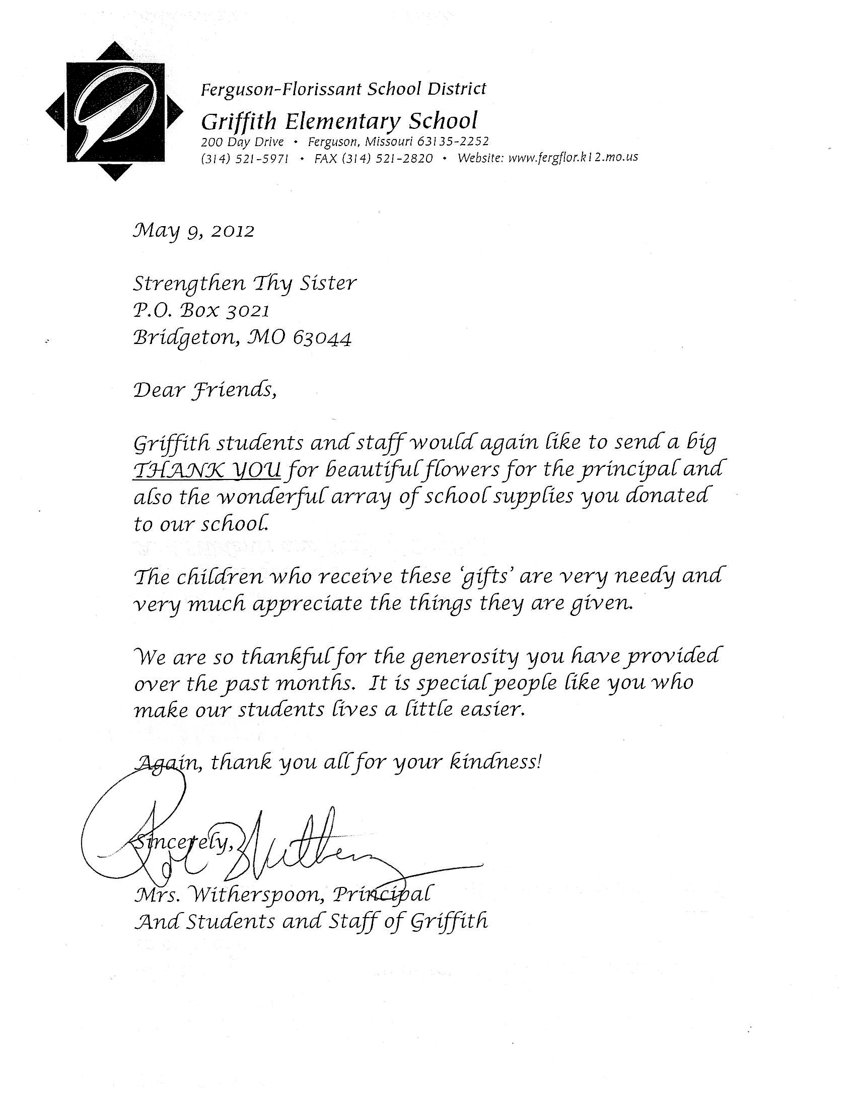 CommunityInitiatives – Community Service Letter